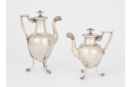 Puppenhaus Miniatur Aquamarin Keramik abgerundetes Wasserkanne