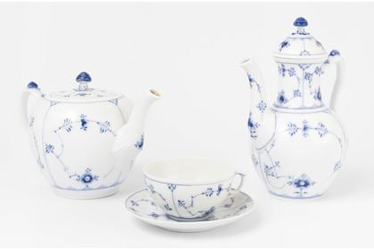 Schüssel viereck ca Villeroy /& Boch Fasan Blau 26 cm