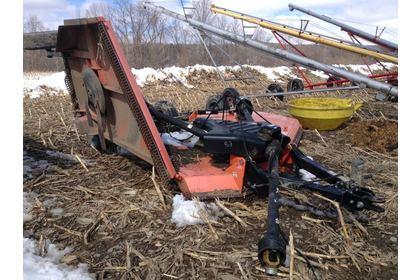 Land Pride RC4015, 15ft tow-behind batwing mower