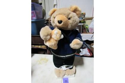 "World Of Miniature Bears Dollhouse Miniature 2.5/"" Plush Bear #382 Fllame"